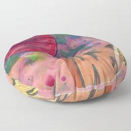 Io's Jovian Dawn Floor Pillow