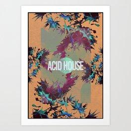 Acid House IV Art Print