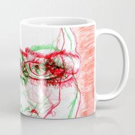 Sliding sadness Coffee Mug