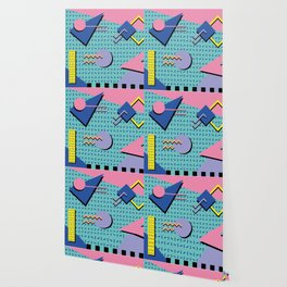 Memphis Pattern 14 - 80s Retro Wallpaper
