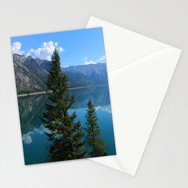 Beautiful Lake Minnewanka Stationery Cards