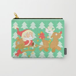 Santa 2014 Carry-All Pouch