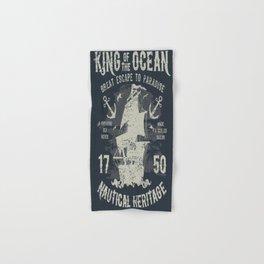 King of the Ocean Hand & Bath Towel