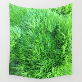 Dianthus Green Trick Wall Tapestry