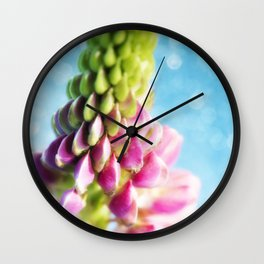 Lupin & Sparkles Wall Clock