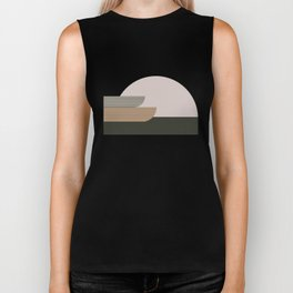 Abstract Composition 16 Biker Tank