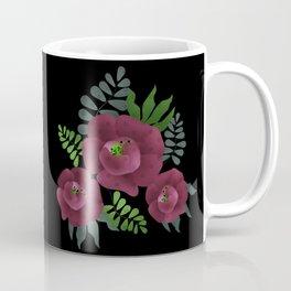 Burgundy roses. Coffee Mug