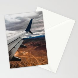 wing over mars Stationery Cards