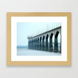 Confederation Bridge Prince Edward Island Framed Art Print