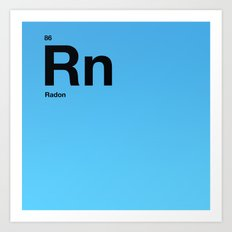 Radon Art Print