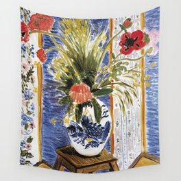 Henri Matisse - Poppies - Exhibition Poster Wall Tapestry