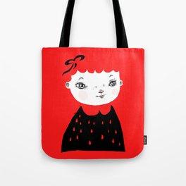 Ruby Red Tote Bag
