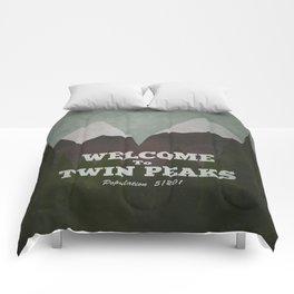 Welcome to Twin Peaks Comforters