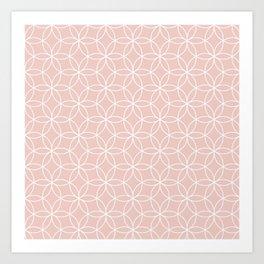 Quartzo Lotus Art Print