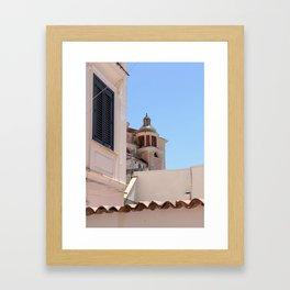 Italian Rooftop II Framed Art Print