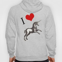 I Love Unicorns Hoody