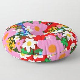 Flower Power! Floor Pillow
