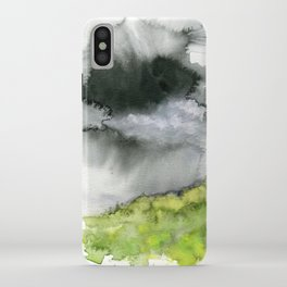 Summer's Rain iPhone Case