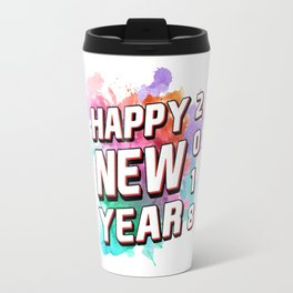 Happy new year's eve celebration fun graphic Tee for your New Year's Eve party. Travel Mug