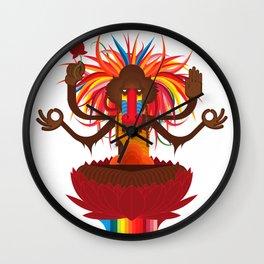 Mono Nublado Wall Clock