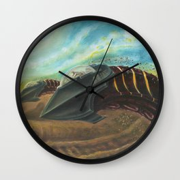 Sandworm Racers - Adam France Wall Clock