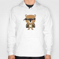 beaver Hoodies featuring Super Beaver by Ariseli Modica