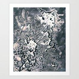 Chemigram 01 Art Print