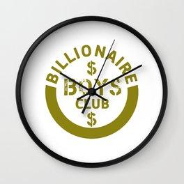 billionaire boys club #society6 #decor #buyart #artprint Wall Clock
