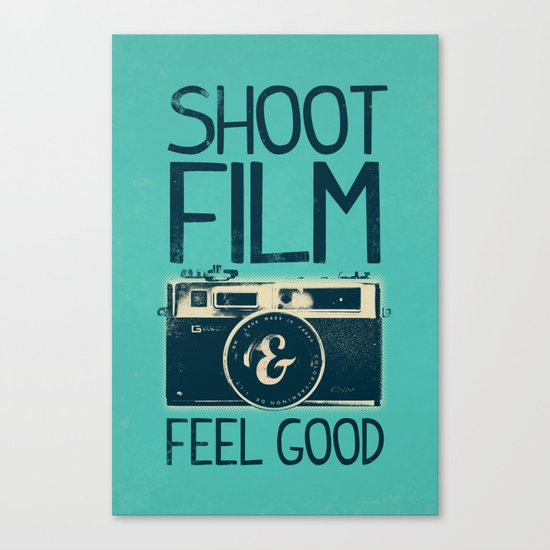 Shoot Film Canvas Print