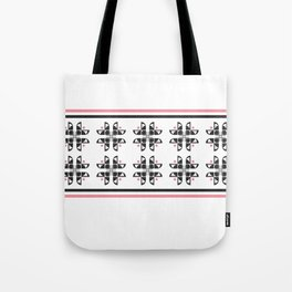 Flowers from Type Tote Bag
