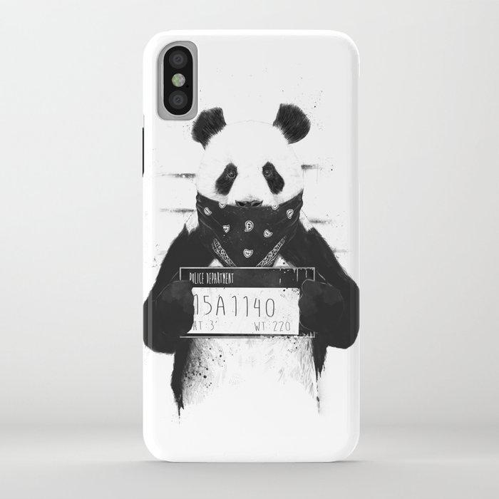 bad panda iphone case