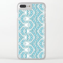 Stepping-Stones. Clear iPhone Case
