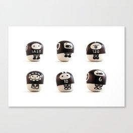 stoneheads 001 Canvas Print