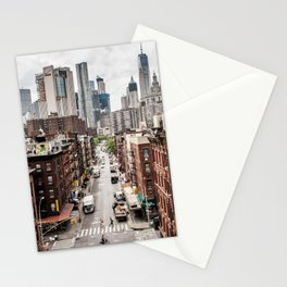 USA Photography - Chinatown In New York City Stationery Cards