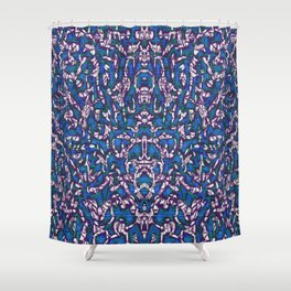 The Happy Blizzard Shower Curtain