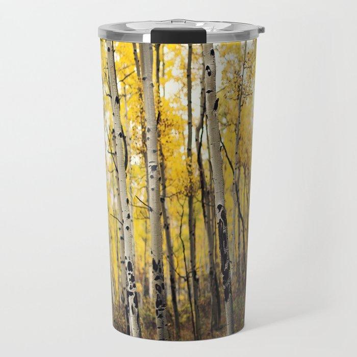 Aspen Trees of Colorado Travel Mug
