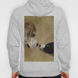 Nose To Nose Dogs Hoody