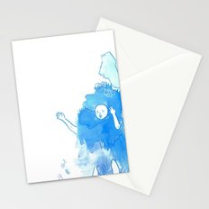 Nostalgia (Cool Colors) Stationery Cards