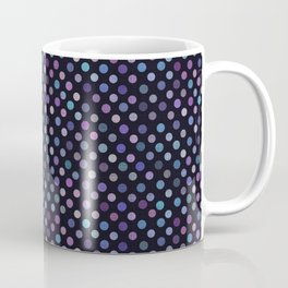 Retro Colored Dots Material Coffee Mug