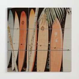 lets surf ii Wood Wall Art
