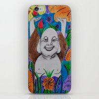 buddah iPhone & iPod Skins featuring WEDDING BUDDAH-2 by Manuel Estrela 113 Art Miami