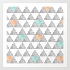 Tri-angle Art Print