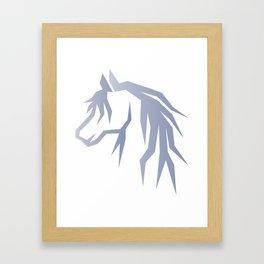 Absract Horse Framed Art Print