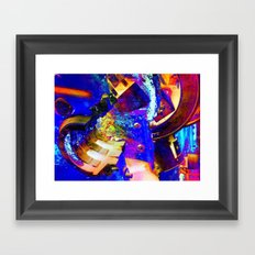Interlock Framed Art Print