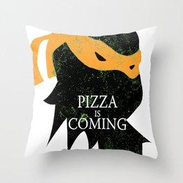 Michelangelo Coming Throw Pillow