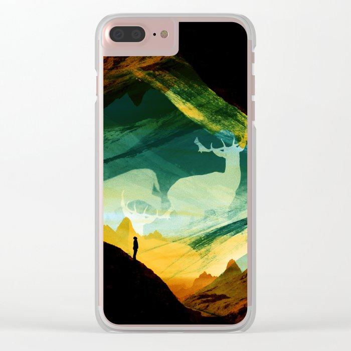 Native Dreamcatcher Clear iPhone Case