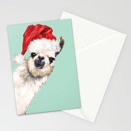 Christmas Sneaky Llama Stationery Cards