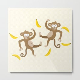 monkey see monkey do Metal Print