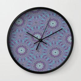 Gypsy Floral Wall Clock