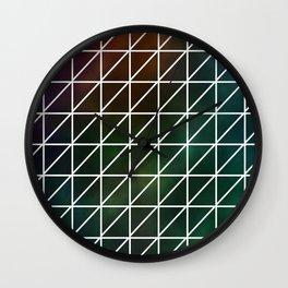 Stellar Geometric Wall Clock